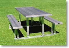 aluminum picnic tables. PICNIC TABLE LENGTH 6\u0027 - 0\ Aluminum Picnic Tables A